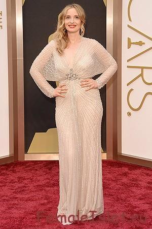 """Пудровое платье """"Оскар 2014"""""""