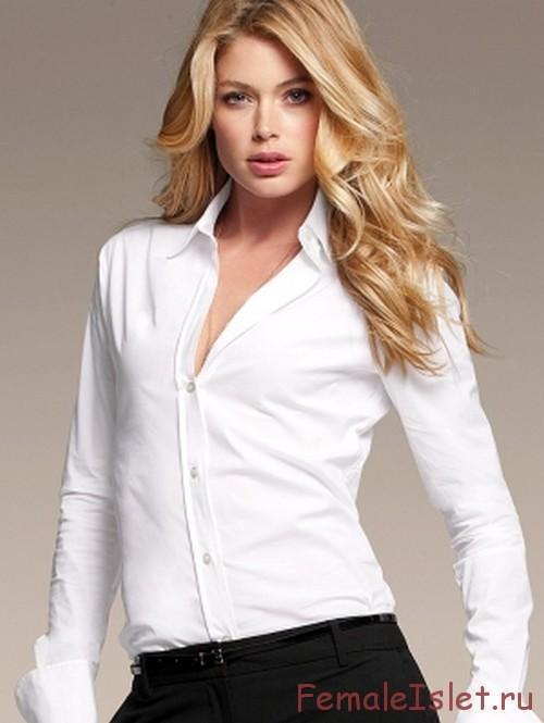 рубашка-белая