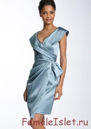 платье с запахом 2015