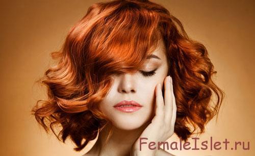 прическа и цвет волос