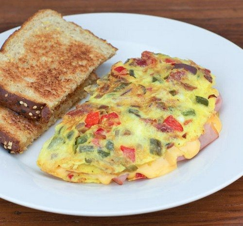 Omelets recipes with photos 2