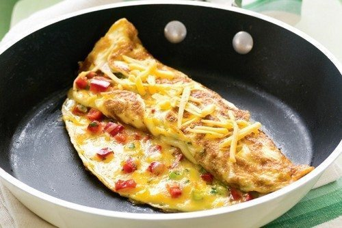 Omelets recipes with photos 4
